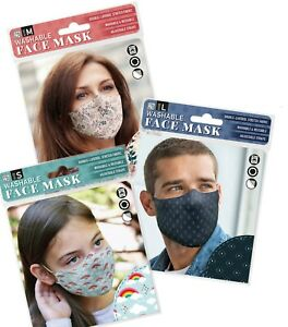History And Heraldry Washable Face Masks. Reusable / Adjustable Cloth coverings