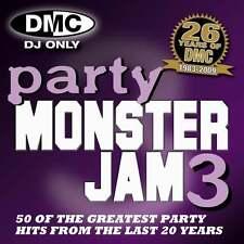 DMC Party Monsterjam Vol 3 50 Track Continuous Megamix Mixed DJ CD