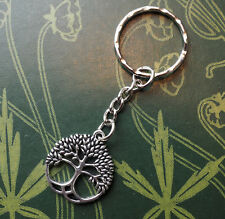 Tree of Life KeyRing, Chain - Life, Growth, Pagan, Folk Magic, Witchcraft, Wicca