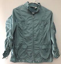 Zenergy Chico's Size 1 Track Jacket EUC blue