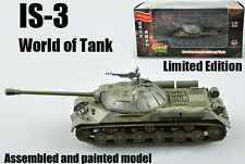 WWII Russian IS-3 Stalin Tank of world limited edition 1:72 finished Easy Model