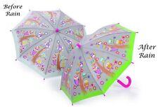 Floss & Rock Colour Changing Owls Kids Umbrella Manual Opening Fun Girls Gift