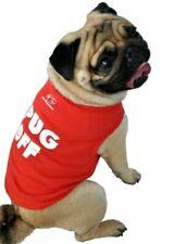 """PUG OFF"" Ruff Ruff and Meow Dog Tank Top Doggie T Shirt Red XS Cute! NEW"
