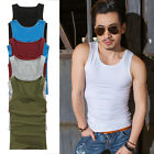Slim Men's T-Shirts Tank Top Muscle Camo Sleeveless Tee A-Shirt Cotton TOPS