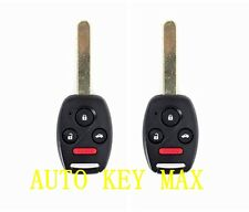 2 Replacement for 2003 2004 2005 2006 2007 Honda Accord Remote Key  OUCG8D380HA