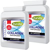 Collagene Marino 120 Pillole/Compresse Anti Età & Cura Della Pelle Purvitz UK