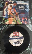 Yankee Stadium The Sounds Of A Half Century LP 50th 1973 Mel Allen Narration