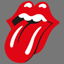 """Cool Rolling Stones Sticker Decal 5/"""" high X 4/"""" wide"""