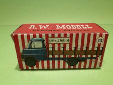 R.W. MODELL EMPTY BOX -  HANOMAG PRITSCHE   - RARE SELTEN  - GOOD CONDITION  -