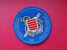 insigne militaire écusson patch Commandos Marine de Penfentenyo Ancre Grise