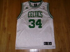 71d4cd4e2 ADIDAS PAUL PIERCE WHITE BOSTON CELTICS YOUTH NBA REPLICA BASKETBALL JERSEY  LRG