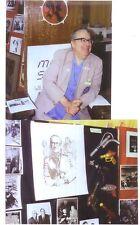 Two 8 x 10 photos FORREST J ACKERMAN 1984 World SF Con