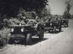 TROOP MOVEMENT BY MOTOR VEHICLE 1950S US ARMY TRAINING FILM M38 JEEP  DVD708