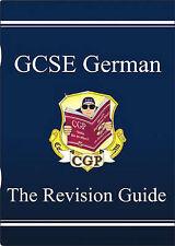 CGP GCSE GERMAN THE REVISION GUIDE KS4 QUESTIONS GRAMMAR PHRASES AQA EDEXCEL OCR