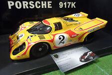 PORSCHE 917 K #2 MARTINI KYAIAMI 1970 au 1/18 AUTOart 80035 macchina