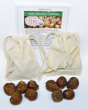 2 Sample bags FORNYA Soapnuts  100% Certified Organic Laundry Soap Chemical Free