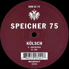 KÖLSCH - SPEICHER 75 - KOMEX75 (Goldfisch / Zig) NEW KOMPAKT VINYL