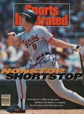 Cal Ripken Jr Orioles SIGNED Sports Illustrated NL COA