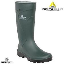 Delta Plus Joucas Green PVC Waterproof Outdoor Wellington Boots Wellies Rainboot