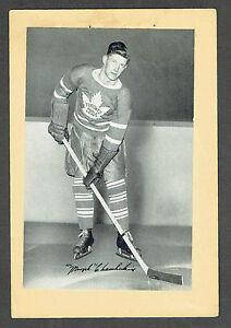 1934-43 Beehive Hockey Photo Toronto Maple Leafs' Murph Chamberlain
