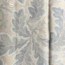 "COLEFAX AND FOWLER FABRIC DESIGN ""MELBURY""3 METRES 100% LINEN"
