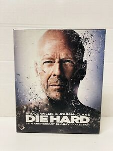 Die Hard: 25th Anniversary Collection Blu-ray 2013 5 Disc Set Complete Free Ship