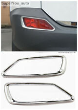 ABS Chrome Rear Fog Light Lamp Cover Trim For Toyota RAV4 2013-2015