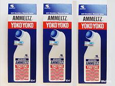 3x 82ml Original Ammeltz YOKO YOKO Stiff Shoulder Muscular Aches Pain Relief