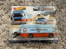 Hot Wheels - Lancia Rally 037 Euro Hauler - Team Transport - Gulf