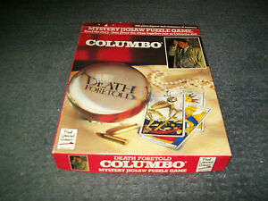 Columbo Death Foretold Jigsaw Puzzle Game-550 Pieces