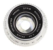 Kodak London 4in (100mm) f4.5 Enlarging Lens   #H1643