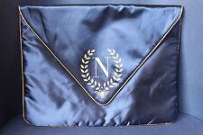 NAPOLEON PERDIS Limited Edition Large Cosmetics Makeup Bag Navy Blue New!