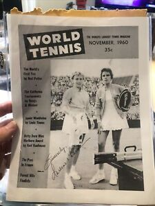 Darlene Hand Signed Autographed Tennis Superstar 8x10 Very rare guaranteed E