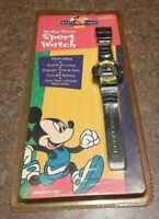 Vintage Mickey Mouse Sport Watch For Kids Innovative Time Disney SEE DESCRIPTION