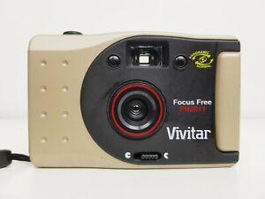 Vintage Vivitar PN2011 35mm Film Camera Focus Free Lens Point & Shoot