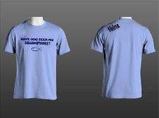 """""""Have you seen my squamipinnis"""" reefer shirt, Support Your Aquarium Hobby"""