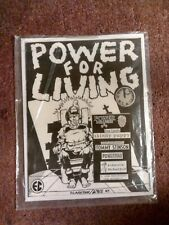 POWER FOR LIVING #5 punk fanzine- T. Stinson/REPLACEMENTS*SKINNY PUPPY*POWERMAD