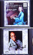 Andreas STAIER Signed BACH Italain Concerto Partita Chromatic Fantasia Fugue CD