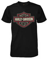 Harley-Davidson Men's Safety Shield Short Sleeve Crew T-Shirt, Black R002312