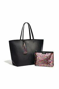 Victorias Secret Shoulder Bag Black