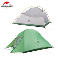 Naturehike Ultralight Backpacking Camping Tent 210T Silicone Coated 1 2 3 Person