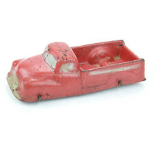 Vintage Auburn Rubber Toy Red Pickup Truck