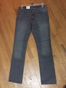 NWT Zumiez Free World Messenger Jeans Faded Gray Mens Size 33 x 32 NEW, UNWORN