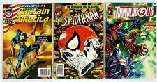 3x MARVEL SPECIAL Cpt. AMERICA/SPIDER-MAN/THUNDERBOLTS DT z2-3 Kaine/THOR/Shield
