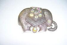 Faux Studded Elephant Pin