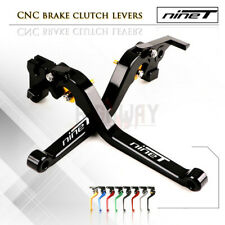 Motorbike CNC Alu Long Brake Clutch Adjustable Levers for BMW R NINE T 14-16