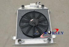 For Aluminum Radiator FORD Model A W/FLATHEAD ENGINE 1928 1929 & FAN