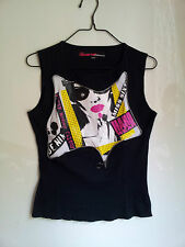Tee-shirt noir Miss Sixty 100%coton