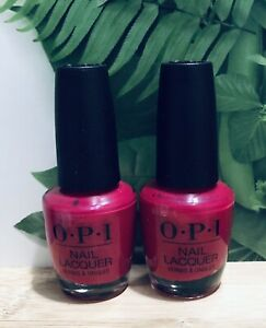 OPI Lacquer-California Raspberry NL L54- 0.5oz (Pack Of 2) Free Shipping
