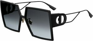 Dior Sunglasses 30MONTAIGNE 807-1I 58mm Black / Grey Gradient Lens